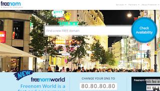 Cara Mudah Pasang Domain Freenom Ke Blogspot