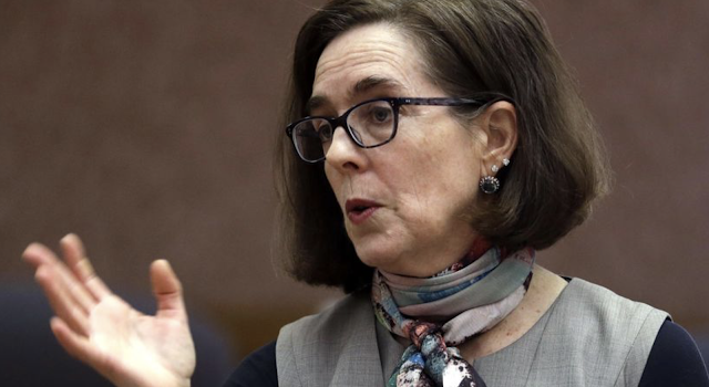Oregon GOP launches recall effort against Democratic Gov. Kate Brown for among other things ignoring the threat from Antifa