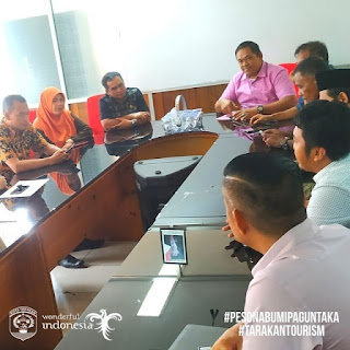 Safari Perdana Dari Komisi 2 DPRD Ke Kantor Dinas Pariwisata Kota Tarakan - Tarakan Info
