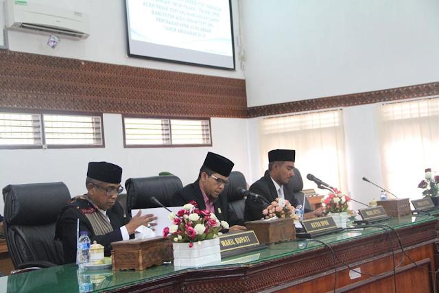 1,97 T APBK-P Aceh Besar di Sahkan