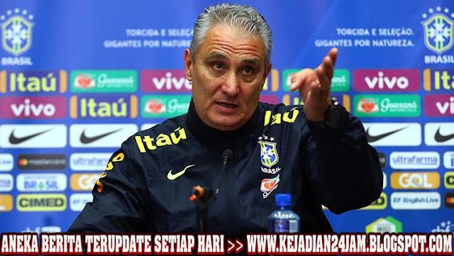 Pelatih Tite Kecewa Brasil Gagal Atasi Senegal
