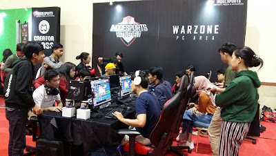 area games pada event Pasar idEA 2019