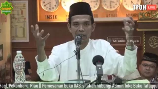 Ustaz Abdul Somad Bongkar Gangguan Penyebab Batal Ceramah