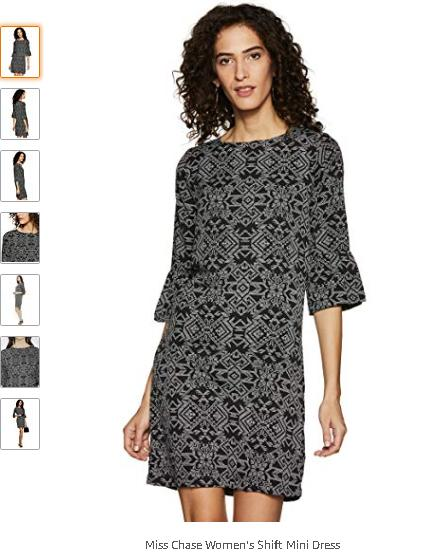Women New Flare Dress Autumn Summer Sleeve Floral Tent Mini Party Long Round