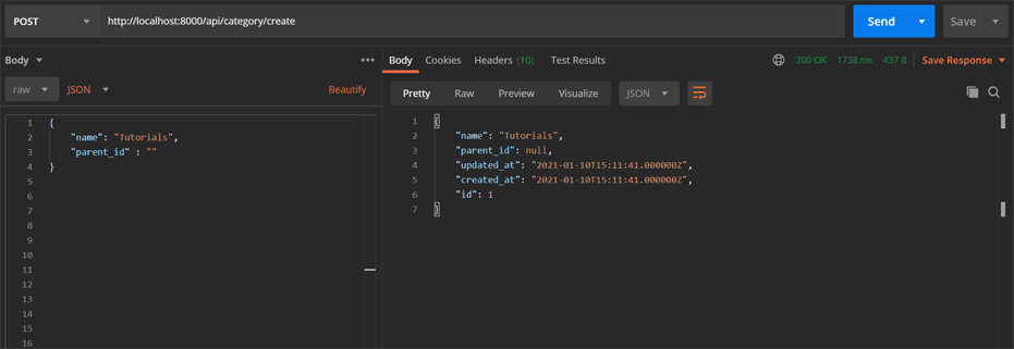 Cara Membuat Kategori dan Sub Kategori di Laravel + Vue.js