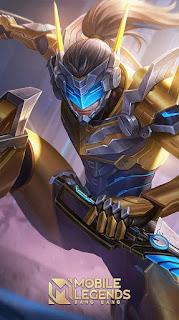 Saber Golden Flash Rework Heroes Assassin of Skins