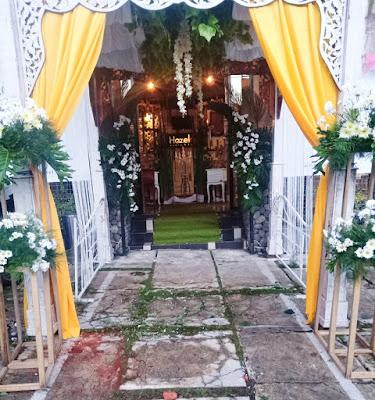 Paket Pernikahan Dan Dekorasi Pintu Masuk Semarang 2020