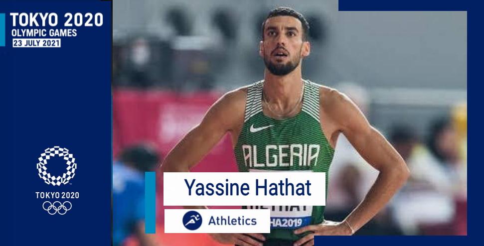 العداء الجزائري حتحات ياسين يتأهل إلى الألعاب الأولمبية