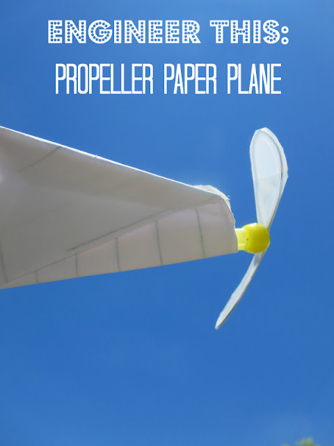 Engineer This Design And Build A Propeller Paper Plane