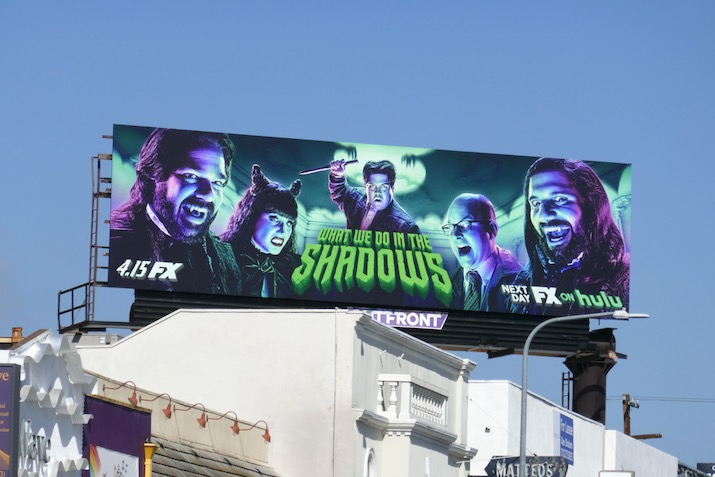 What We Do in the Shadows season 2 billboard