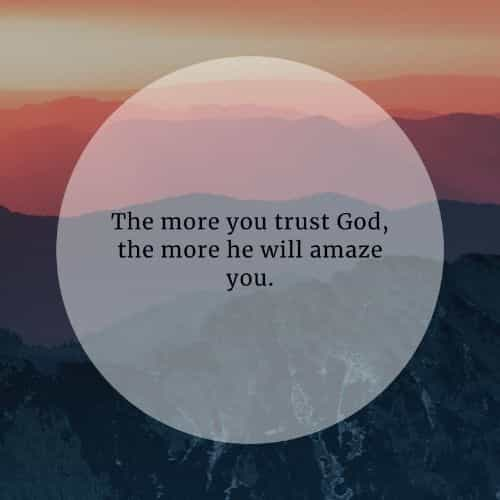 God inspirational quotes that'll inspire you to trust him