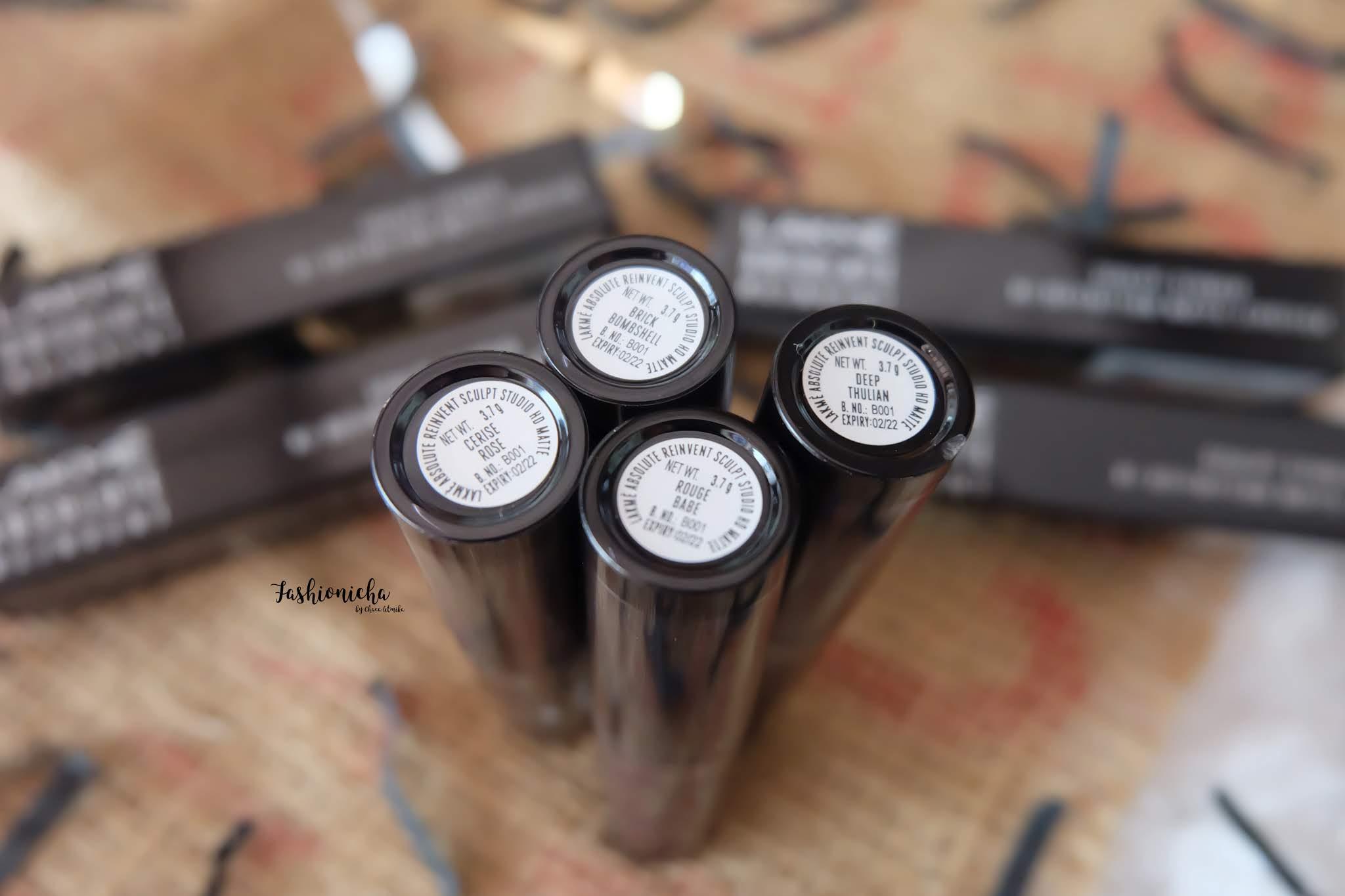 [Review] Lakme Hi-Definition Matte Lipstick