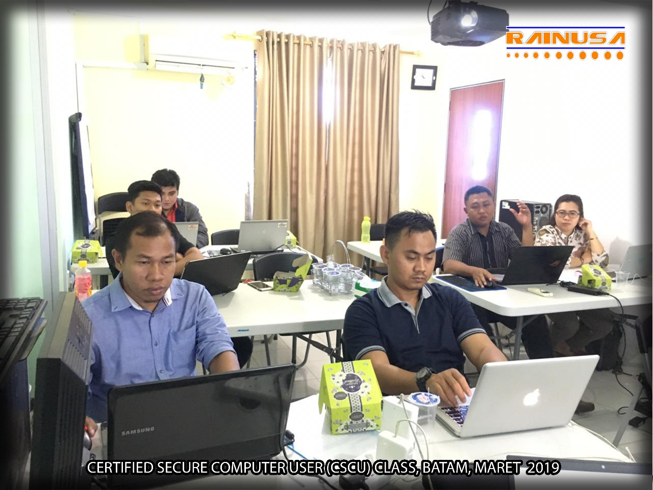 Training Certified Secure Computer User di Rainusa Batam