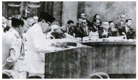 Pidato Presiden Soekarno