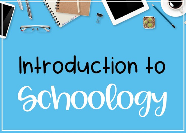 beginners guide to learning the basic functions of schoology for grades 4 5 6