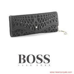 Queen Letizia Style HUGO BOSS Clutch Bag and MAGRIT Pumps