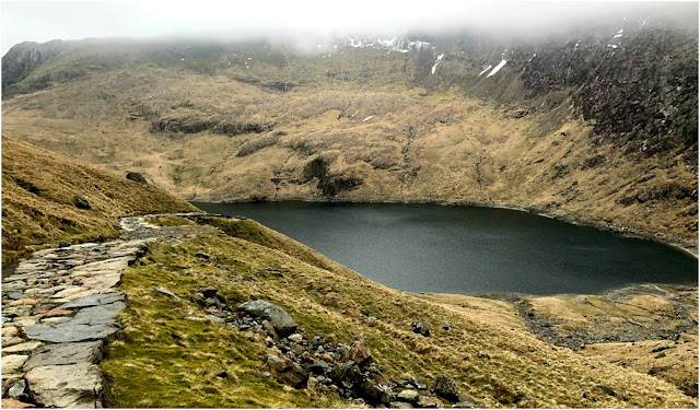 Hiking Mount Snowdon, Snowdonia National Park, Wales