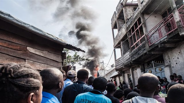 In excess of dozen slaughtered after plane crashes in DR Congo's Goma