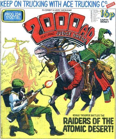 2000 AD 234, Rogue Trooper