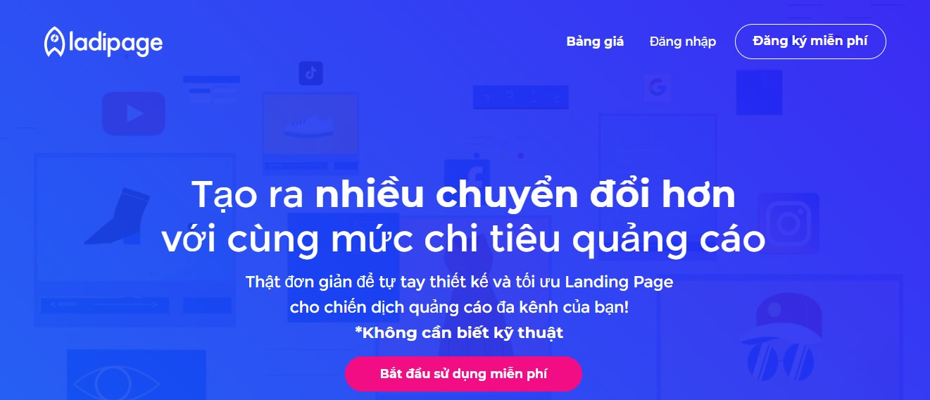 Lading page việt nam