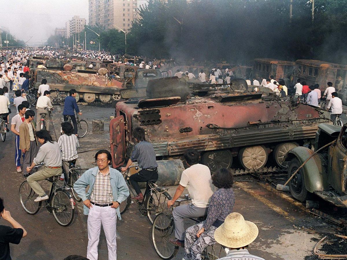 Foto Tianemen Squere Jurnalistik