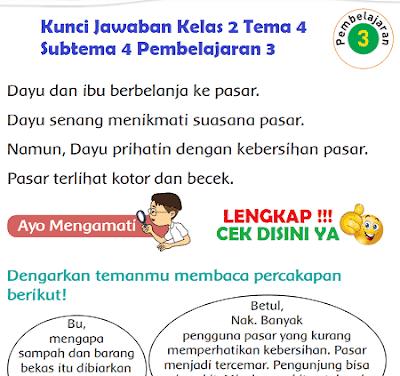 Kunci Jawaban Kelas 2 Tema 4 Subtema 4 Pembelajaran 3 www.simplenews.me