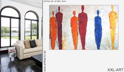 Moderne Wandbilder, Berlin-Kunst von abstrakt bis figürlich