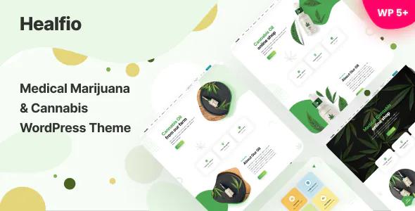 Best Medical Marijuana & Coffee shop WordPress Theme