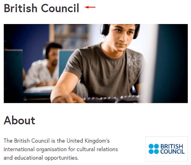 كورسات انجليزي مجانية من المركز الثقافي البريطاني (British Council)