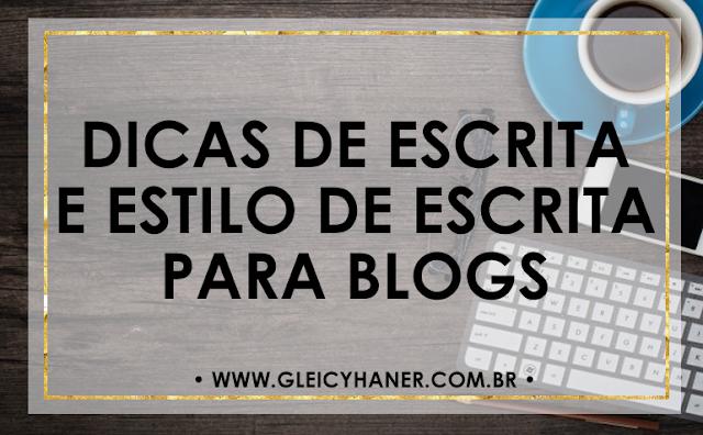 Dicas de escrita e estilos de escrita para blogueiros