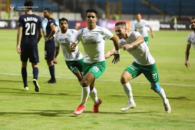 هدف فوز المصري علي بيراميدز (1-0) الدوري المصري
