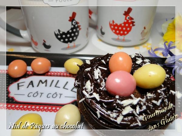 petits gâteau pour Pâques sans gluten, sans lactose