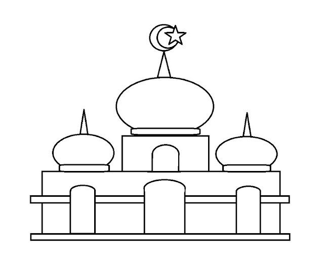 Gambar Mewarnai Untuk Anak Islami Terbaru  gambarcoloring