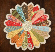 Quilt Inspiration Free Pattern Day Dresden Plates