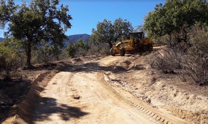 A mantenimiento casi mil kilómetros de caminos rurales