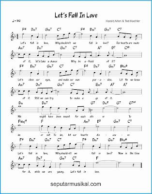 let's fall in love lagu jazz standar