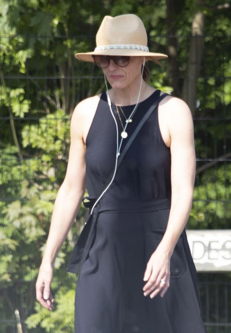 Suranne Jones Clicked Outside  in London 24 Apr-2020