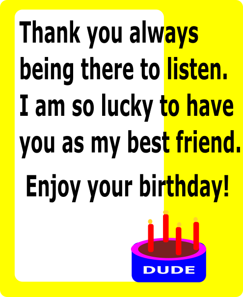 Happy Birthday Image Friend Free Download