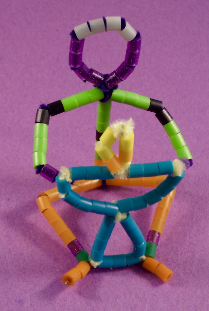 Pipe Cleaner Dude Needs a Chalice
