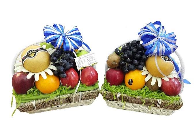 Giỏ hoa quả Song lộc S29