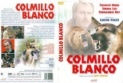 Carátula dvd: Colmillo Blanco 1973