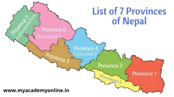 Provinces of Nepal