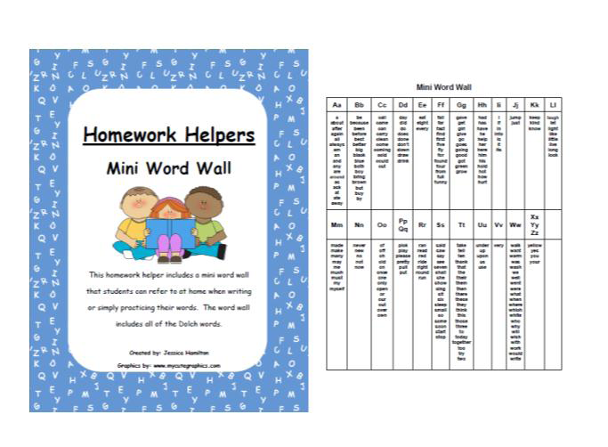 Homework help word search