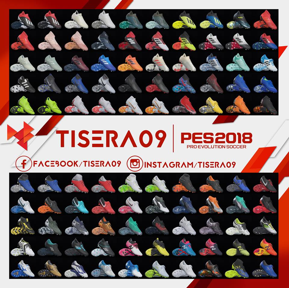 PES 2018 Bootpack V8 by Tisera09