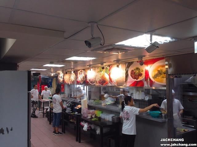 廚房送餐區