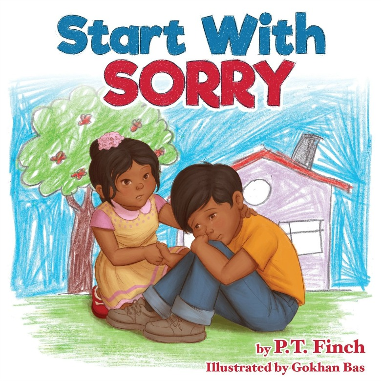 learning to apologize book - Children's books about emotions and feelings for preschoolers