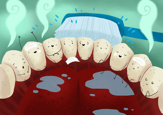كيفية المحافظة على صحة الاسنان