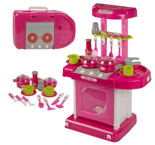 Webby Kids' Luxury Battery Operated Kitchen Super Set