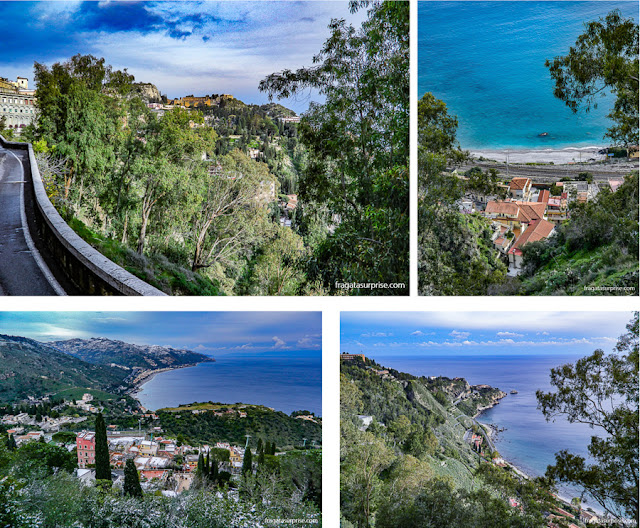 Via Pirandello, Taormina, Sicília