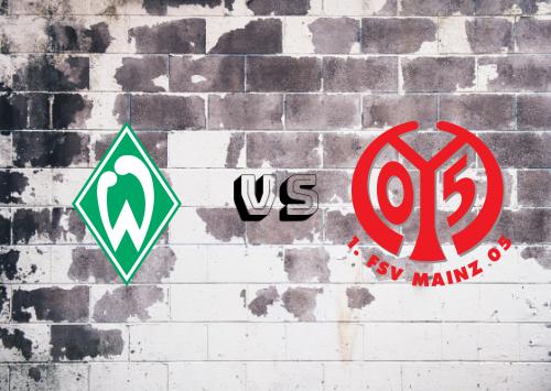 Werder Bremen vs Mainz 05  Resumen